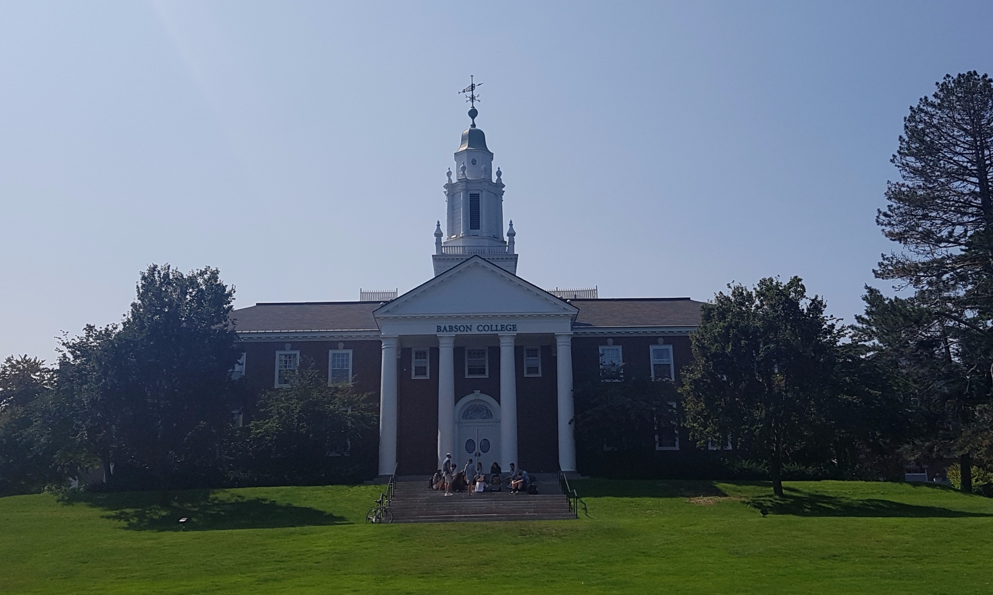 Babson college Main Hall