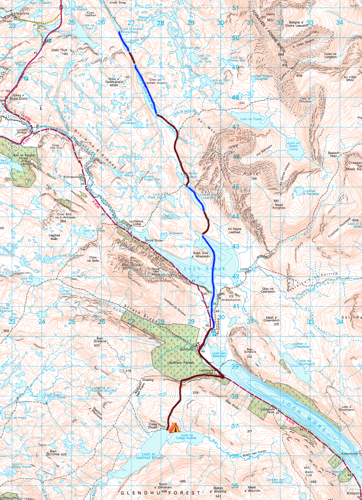 Day 4 Map Rhiconich to Loch.jpeg