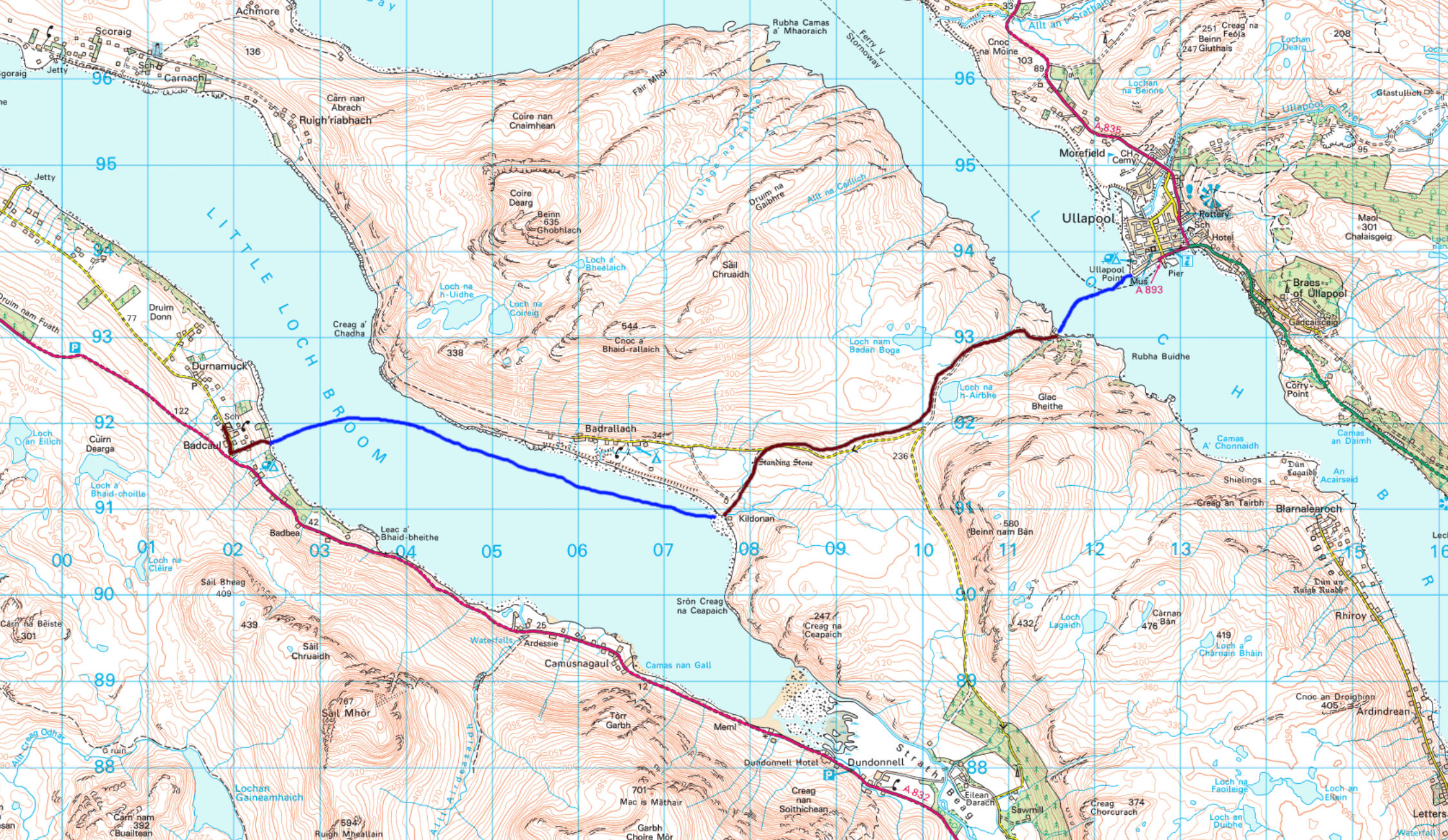 Day 6 Ullapool to Badcaul.png